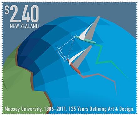125th Massey Anniversary stamp set: Craig Meek