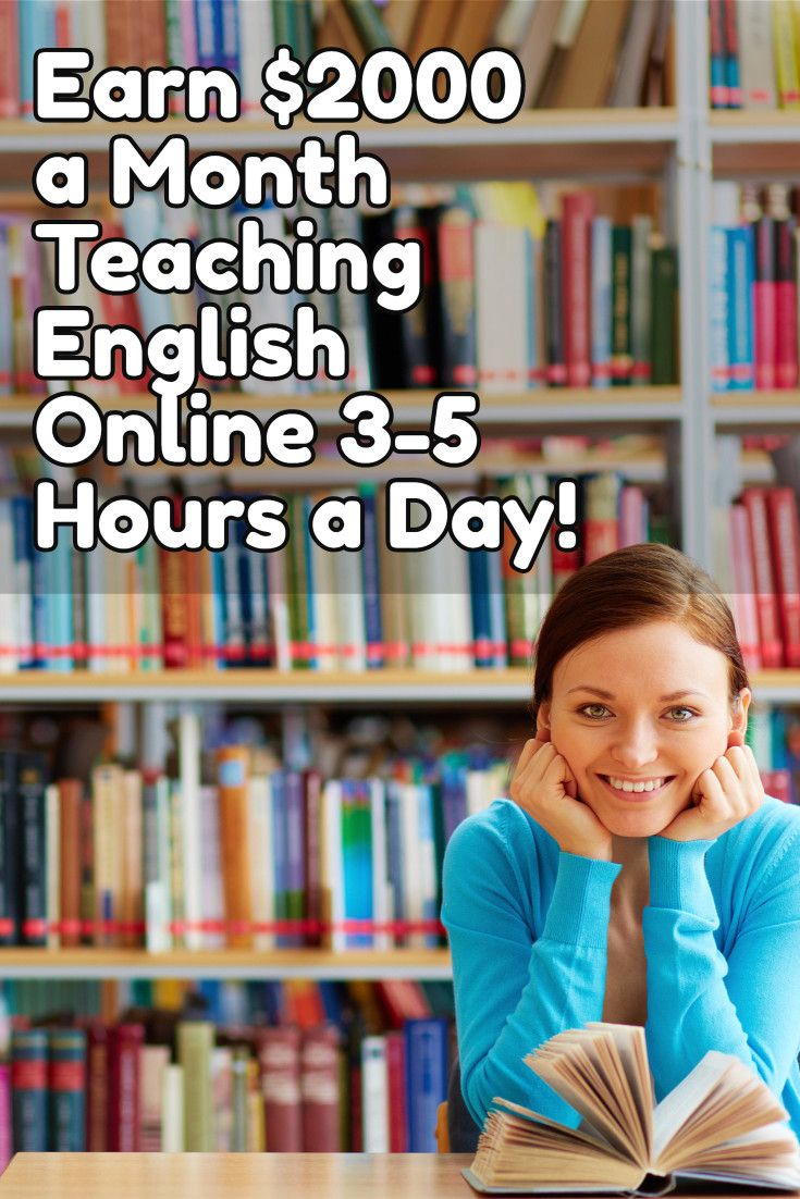 Earn $2000 a Month Teaching English Online to Chinese Students - 3 to 5 Hours Per Day! Flexible Work from Home Opportunity! For more work at home job opps, visit Work at Home Mom Revolution: https://workathomemomrevolution.com