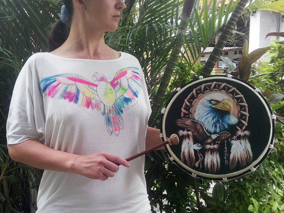 Shamanic drumming has a great therapeutic effects. It induces deep relaxation, lowers blood pressure, boosts the immune system, reduces anxiety and stress, stimulates the release of negative feelings and memories. The sound of drumming generates neural connections in all parts of the brain.