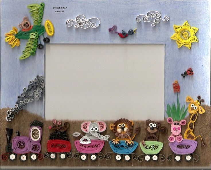 10 best photo frame quilling images on Pinterest | Quilling designs ...