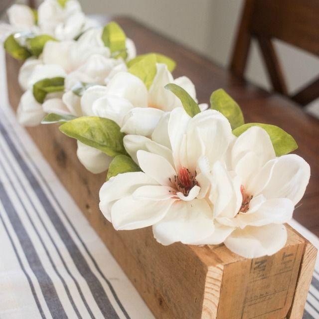 Ideas about magnolia centerpiece on pinterest