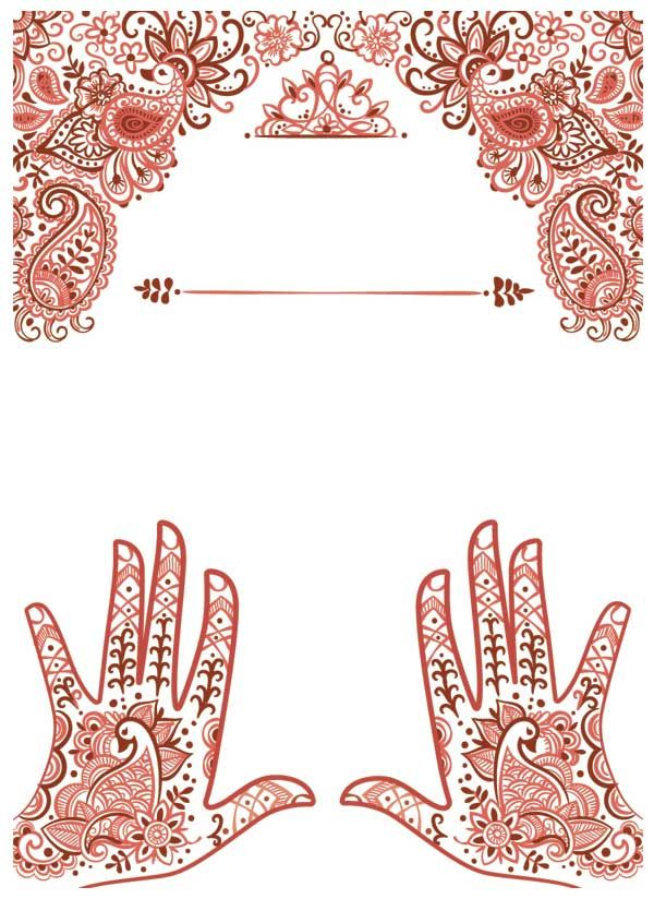 Create Henna Inspired Elements for a Festival Poster in ...
