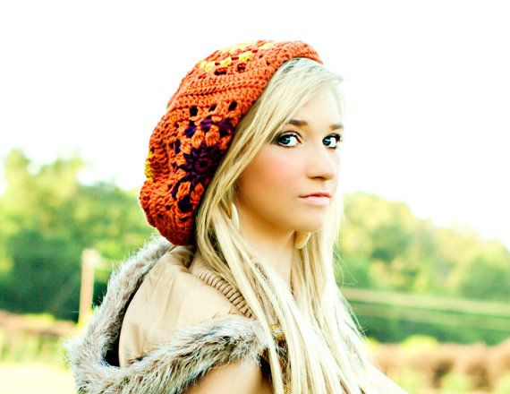 Handmade Hat for Women Fall Fashion Slouchy by foreverandrea, $60.00