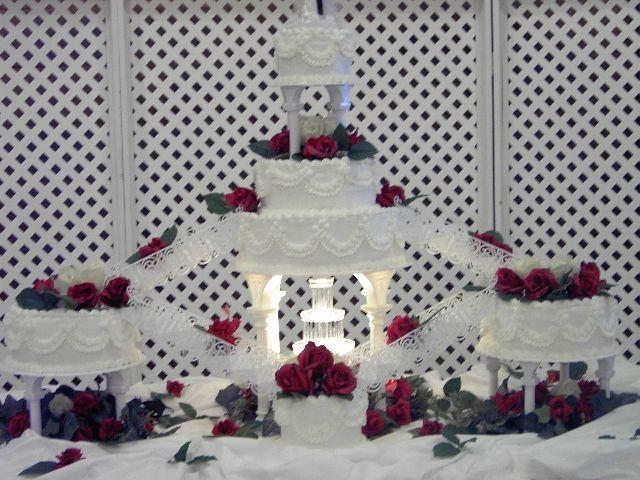 wedding cakes with stairways | ... cake ideas , wedding cake with fountains , wedding cake with stairs