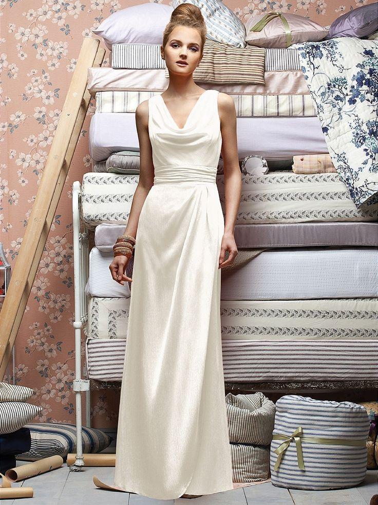Designed With A Slim Line Silhouette The Dessy Lela Rose LX154 Bridesmaid Dress