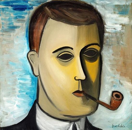 Freddie, Wilhelm (1909-1995) - Self-Portrait (Private Collection) by RasMarley, via Flickr