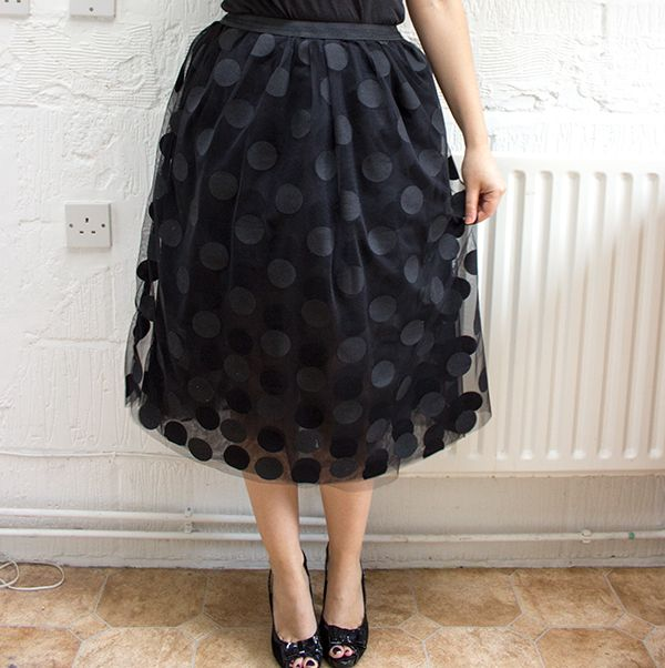 How to Make the Perfect Tulle Party Skirt (this looks like the easiest tutorial I've found so far...!)