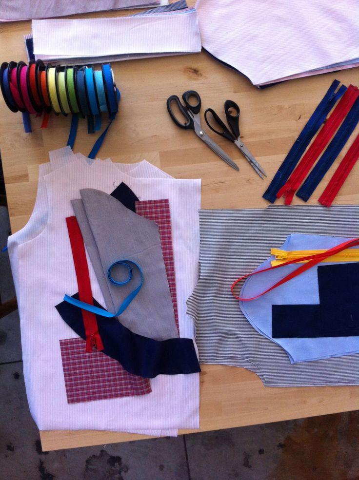 LINO - school apron - matched one by one - aquapotabile.com
