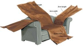 make your own slip cover (good to know when we get a new couch that we actually care about...)