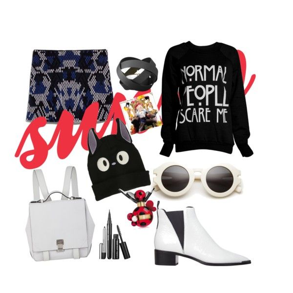 seventh spring by anna-ibraeva on Polyvore featuring мода, MANGO, Acne Studios, Proenza Schouler, Ghibli and Georg Jensen