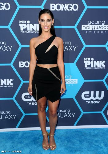WE LOVE | Jessica Lowndes in the 'Yea Yea Yea' Skirt by @threefloor, now $150.00  www.theeditonline.com.au  #theeditonline #threefloor #jessicalowndes #90210