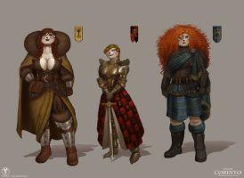 (PROJECT CORINTO) HIGHFLOWERS BINNENOUN CLOTHES by SSWORKSHOP