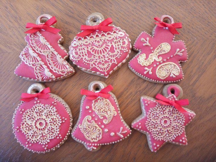 Christmas Cookies, Vánoční perníčky,рождественские пряники.
