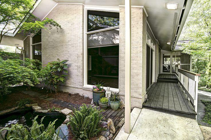 1960's Modernist Ranch | Modern Charlotte Homes for Sale | Southpark | Charlotte NC
