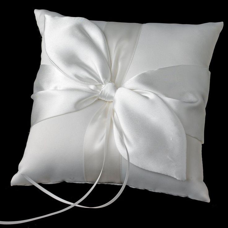 Bridal Love Knot Ring Bearer Pillow 17 (NEW)
