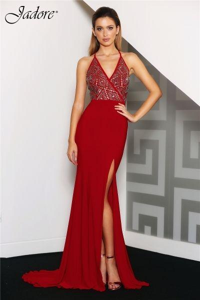 J'Adore   Jadore Dresses   Jadore J8058 embellished dress