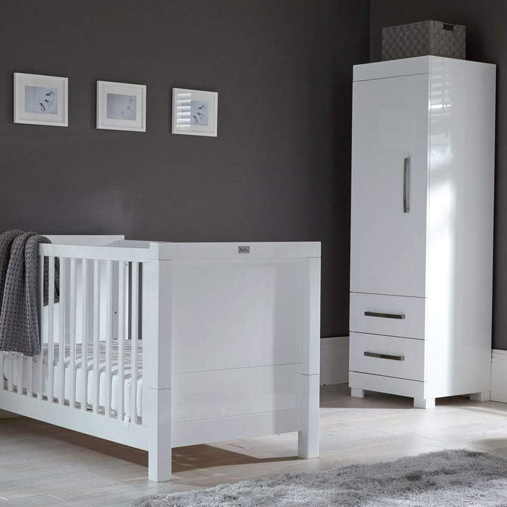 The Silver Cross Notting Hill Nursery Collection Includes A Cleverly Designed E Saver Single Wardrobe