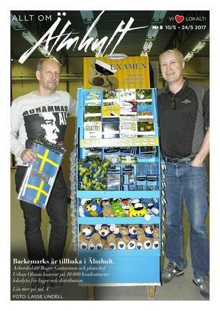 Allt om Älmhult nr 8 2017  100% lokala nyheter från Älmhults kommun producerat av espresso reklambyrå