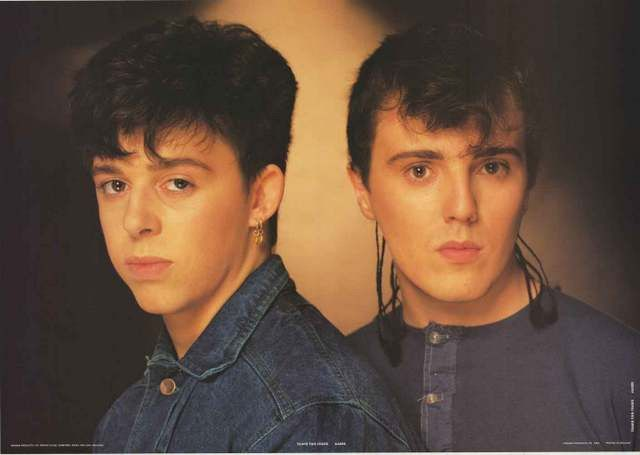 Tears for Fears Roland Orzabal Curt Smith 1983 Music Poster 25x35