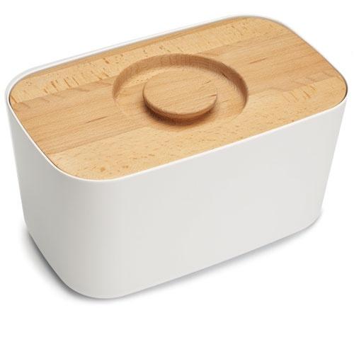 Boîte à pain en mélamine et bois Bread Bin Joseph Joseph