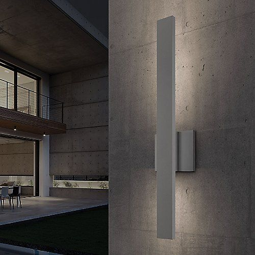 Sword Indoor Outdoor Led Wall Sconce In 2019 Light Pinterest Lighting Sconces And
