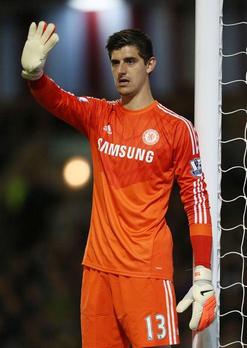 Thibaut Courtois Chelsea 2015