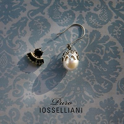 The essential ★ Mono #dropearrings with stud ★ #iosselliani