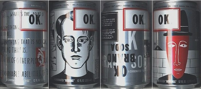 "OK Soda was a soft drink created by The Coca-Cola Company in 1993 that aggressively courted the Generation X demographic with unusual advertising tactics, including endorsements and even outright negative publicity. It did not sell well in select test markets and was officially declared out of production in 1995 before reaching nation-wide distribution. The drink's slogan was ""Things are going to be OK."""