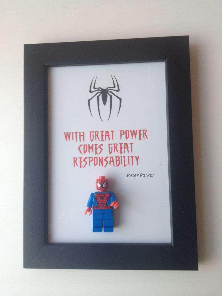 Cadre déco orignal Spiderman : Décorations murales par bueno13