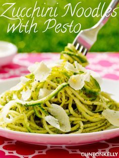 """This no-carb """"pasta"""" captures the best of summer with fresh produce and amazing taste!"""