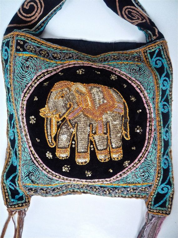 Images about embroidered elephants on pinterest