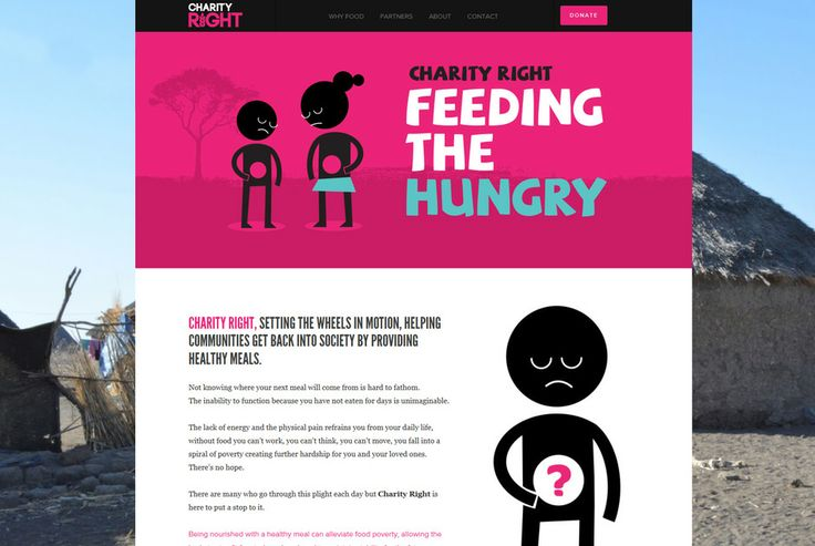 Charity Right aims are to combat hunger, malnutrition and the effects hunger has on the lives of people living in countries where food poverty is a major issue. Charity Right was extremely pleased with the website as a whole and the website gets straight down to the point to get the message across effectively. http://www.websquare.co.uk/our-work/projects/charity-right #webdesign #webdevelopment #bradford