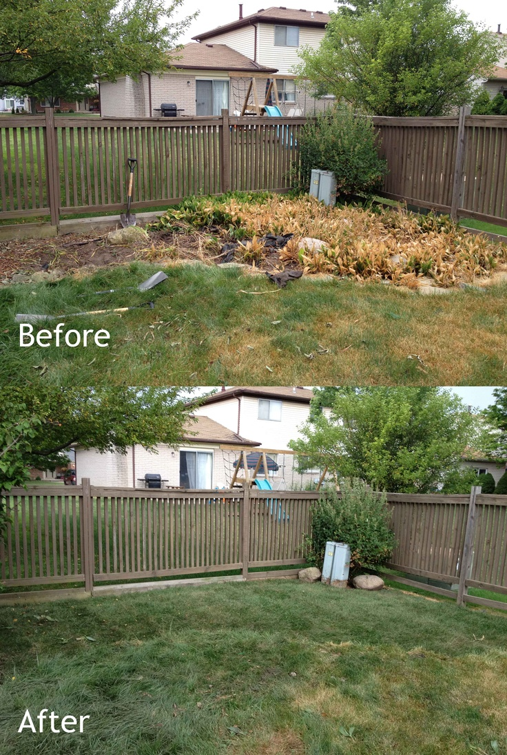 14 best images about before and after landscaping on for Landscape installation