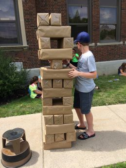Life Size Gaming – JENGA!                                                                                                                                                                                 More