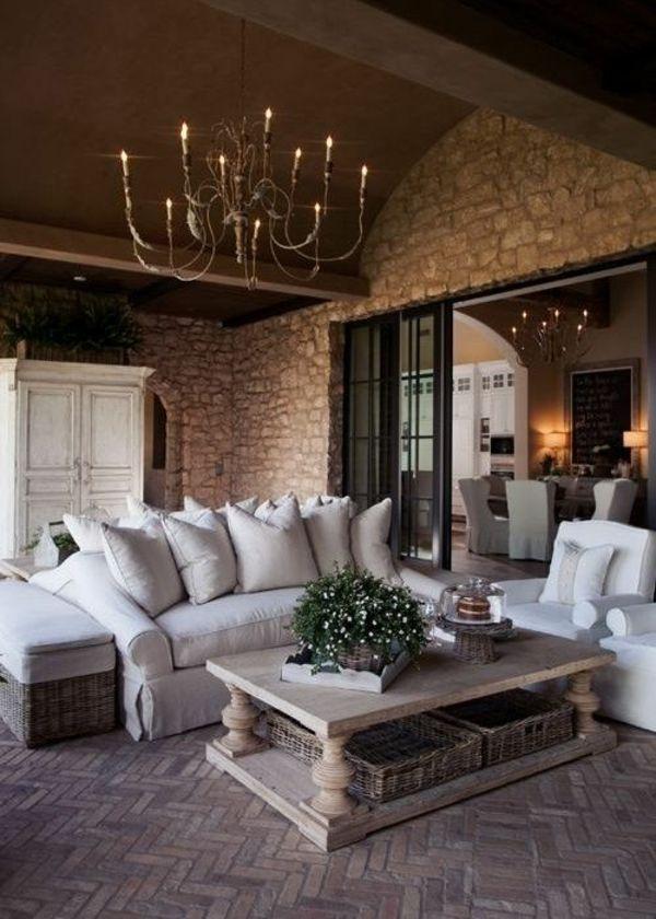 Rustikal einrichten  13 besten Wohnzimmer Bilder auf Pinterest | Landhausstil ...