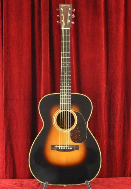 A VINTAGE & RARE 'PRE-WAR' 1936 MARTIN 000-28 *REAL BRAZILIAN ROSEWOOD* | Reverb