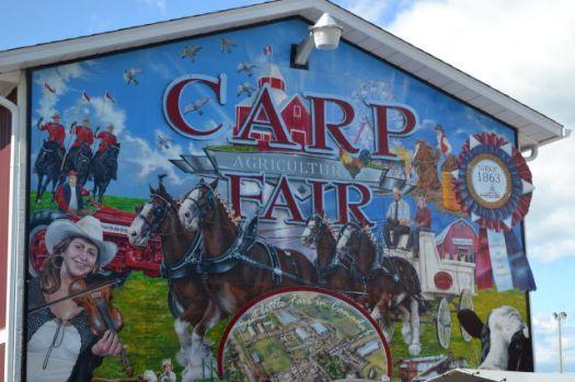Carp Fair grounds, Carp Ontario (40 pieces)
