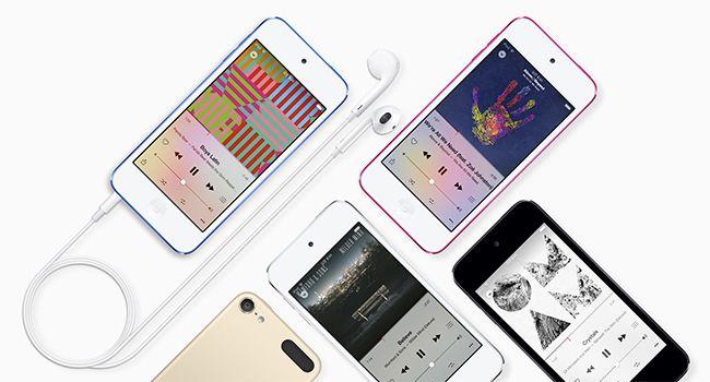 EDGED : 애플, A8 칩 탑재한 6세대 '아이팟 터치' 발매