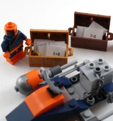 Super hero lego math learning game for kids / Matek játék gyerekeknek legóval - játszva tanulás / Mindy - craft tutorial collection