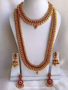 Imitation South Indian Wedding Jewellery set