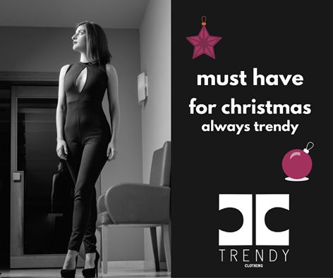 . Must Have for Christmas. Chic and sexy ….sleevless jumpsuit in close line!! #trendyfashionista #trendyfashion #be_trendy #chic #style