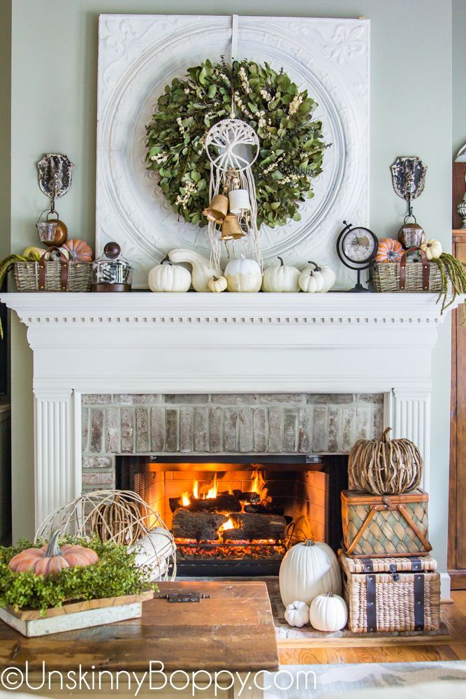 Fall Home Decorating Ideas Using Items From At Home The Home Decor Superstore Macrame Pumpkins Wreaths And Wicker Baskets Fall Home Decor Decor Home Decor