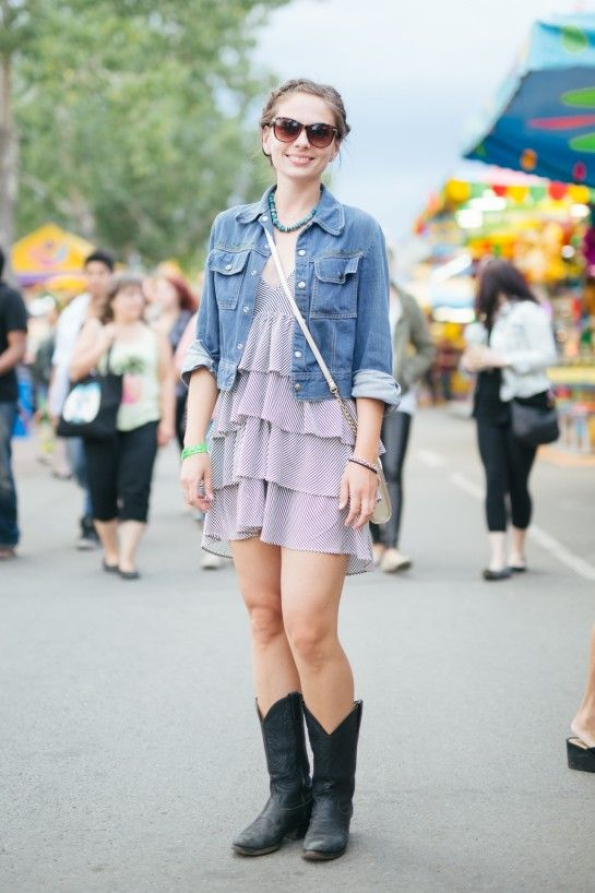 50+ Street Style Pics From the 2015 Calgary Stampede - Flare