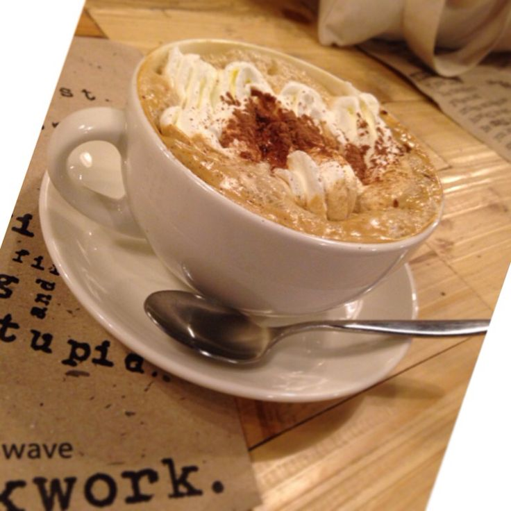 I want to eat my cake and drink it, too. Tiramisu latte from UCC Clockwork in Estancia Mall, Ortigas.