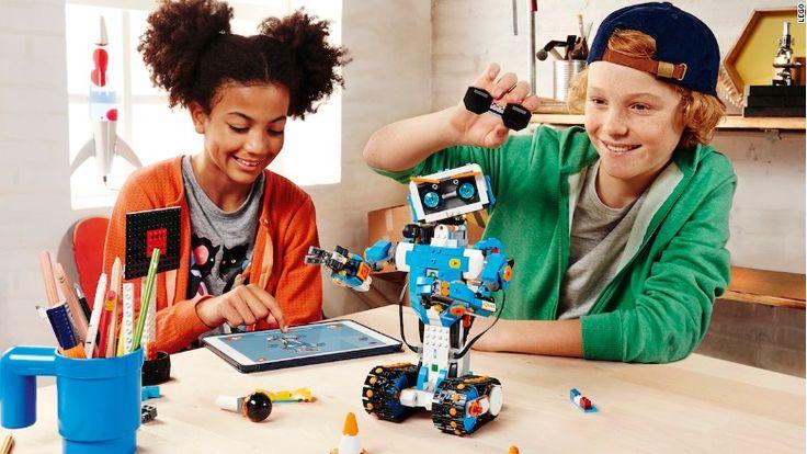 Lego's new kit teaches kids to #code [VIDEO] — #CES2017 via @Cnn