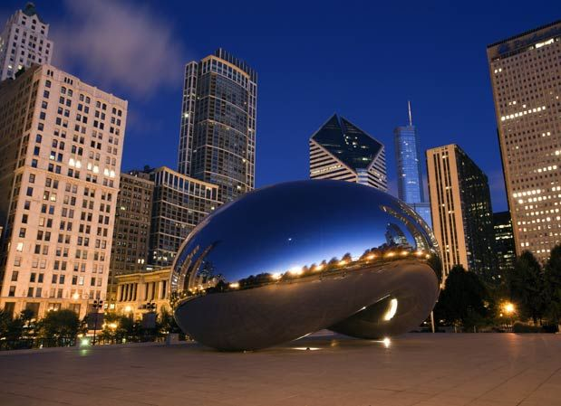 Chicago - one of 9 cities with amazing public art (Photo courtesy of Jeremy Reddington/Shutterstock.com)