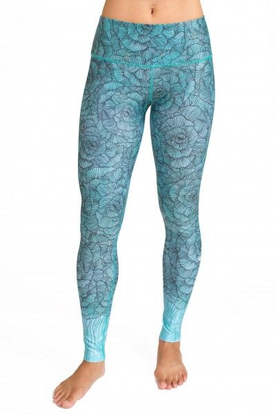Bloom Legging (Mint) --> Available now at myyogacloset.com