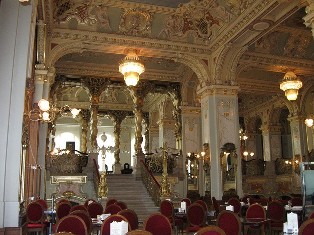 new york cafe, budapest by cge