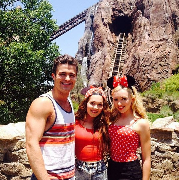 Peyton List, Spencer Boldman & Kelli Berglund
