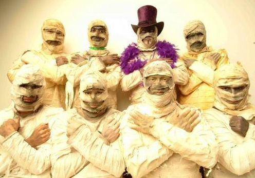 Here Come the Mummies fall 2012 tour dates. Yes.
